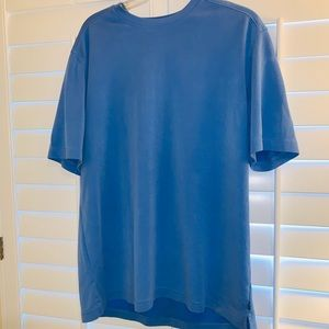 Lrg Banana Republic Men Blue Dress Tee Shirt